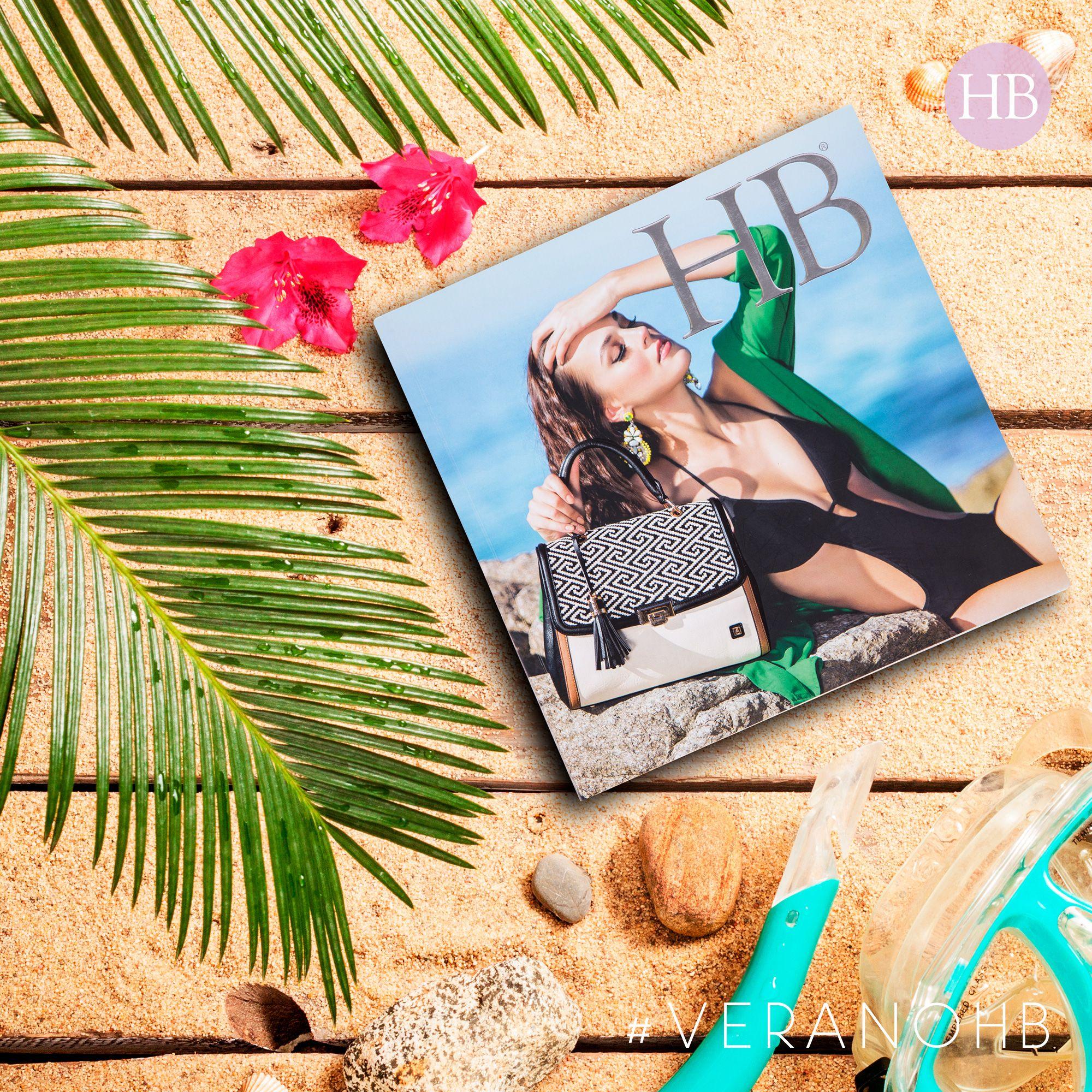 Preventa de catálogos temporada #VeranoHB Disponibles al 01800 4263224 Clic aquí y conócelos http://hbhandbags.com.mx/catalogos/  #SoyHechoEnMéxico🇲🇽