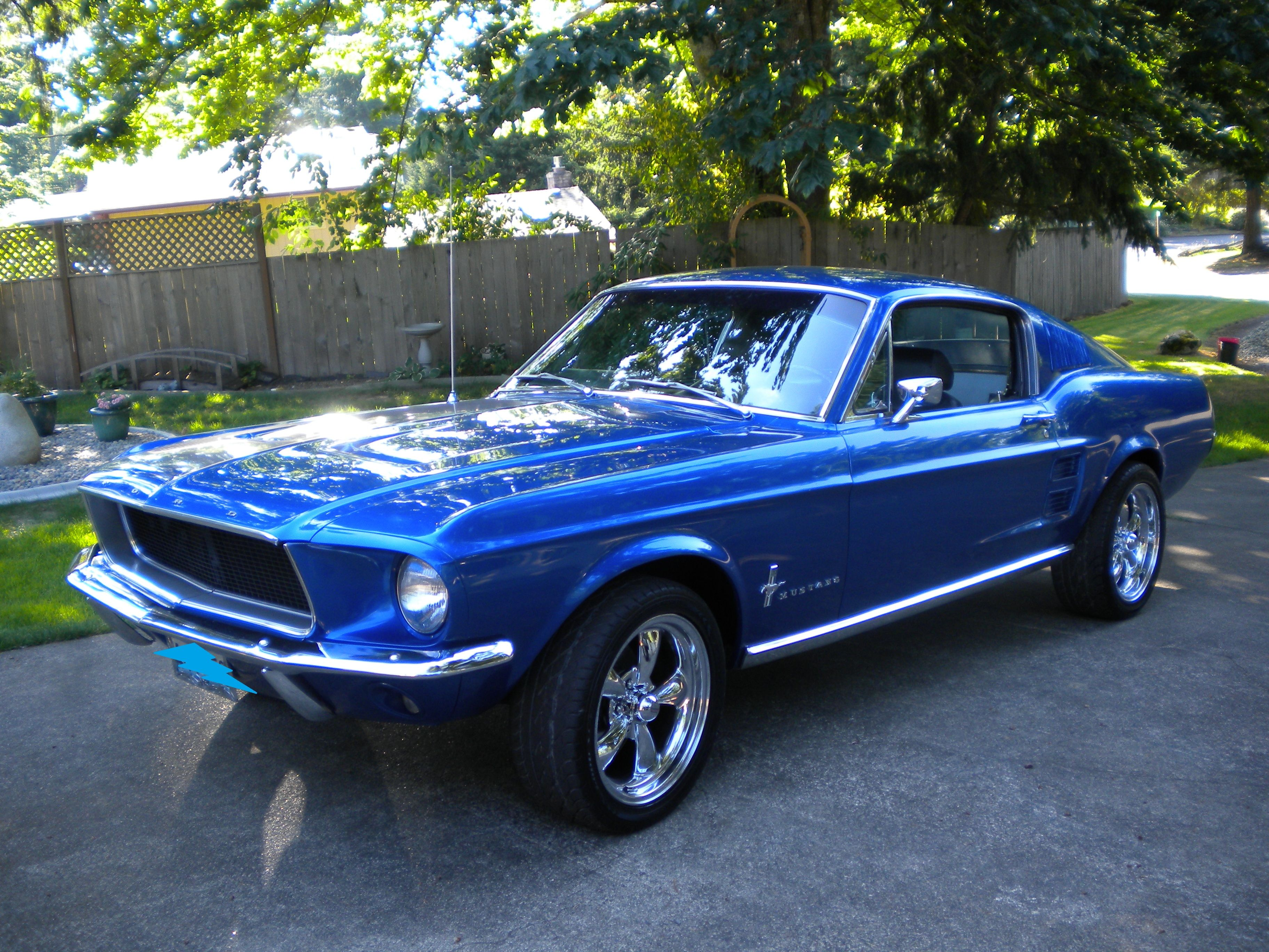 Beautiful 67 Fastback Mustang. Hopefully this is what that one we ...
