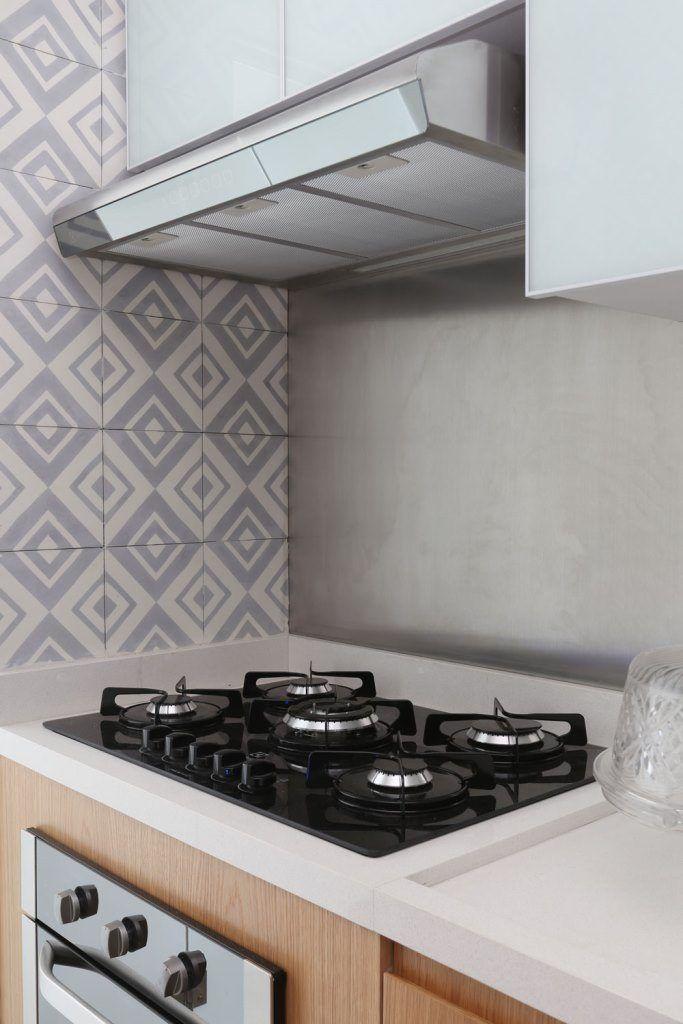 Cozinha Integrada Bancada Em Pedra Caeserstone Armario Inferior