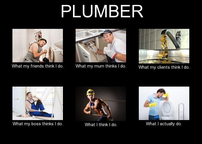 Plumber Meme What I Think I Do Plumbers In 2019 Memes
