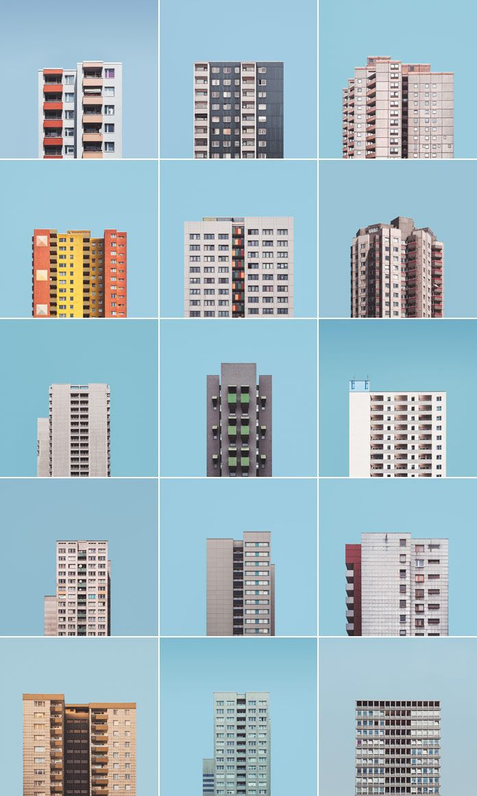 """weandthecolor: """" Berlin's Post-War Housing Estates Read more about the photo…"""