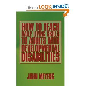 Activity adult developmentally disabled learning are not