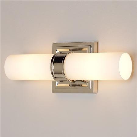 Opal Cylinder 2 Light Bath Light