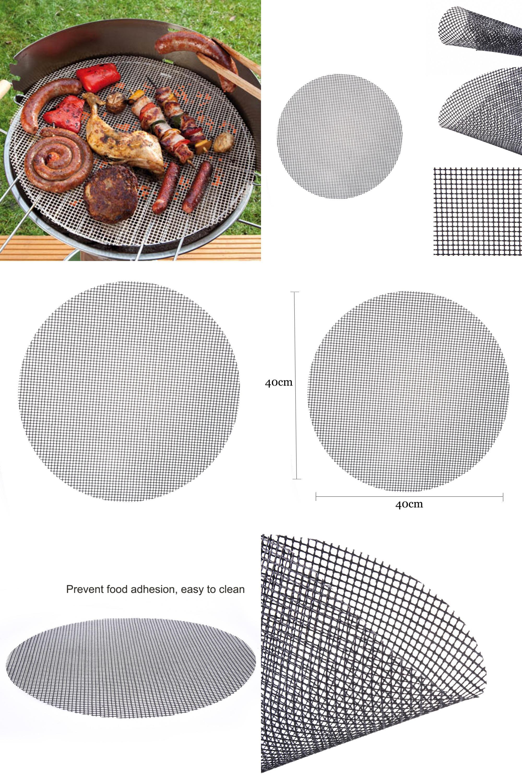 [Visit To Buy] Non-Stick Frying Pan Pad Round Liner Sheet