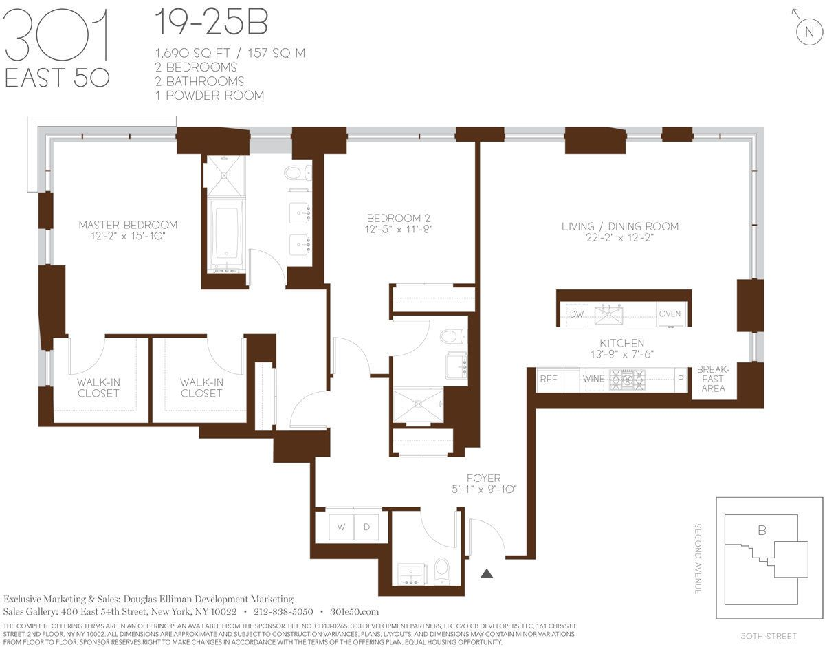 Floorplans Revealed, Eco Features Detailed For 301 East ...