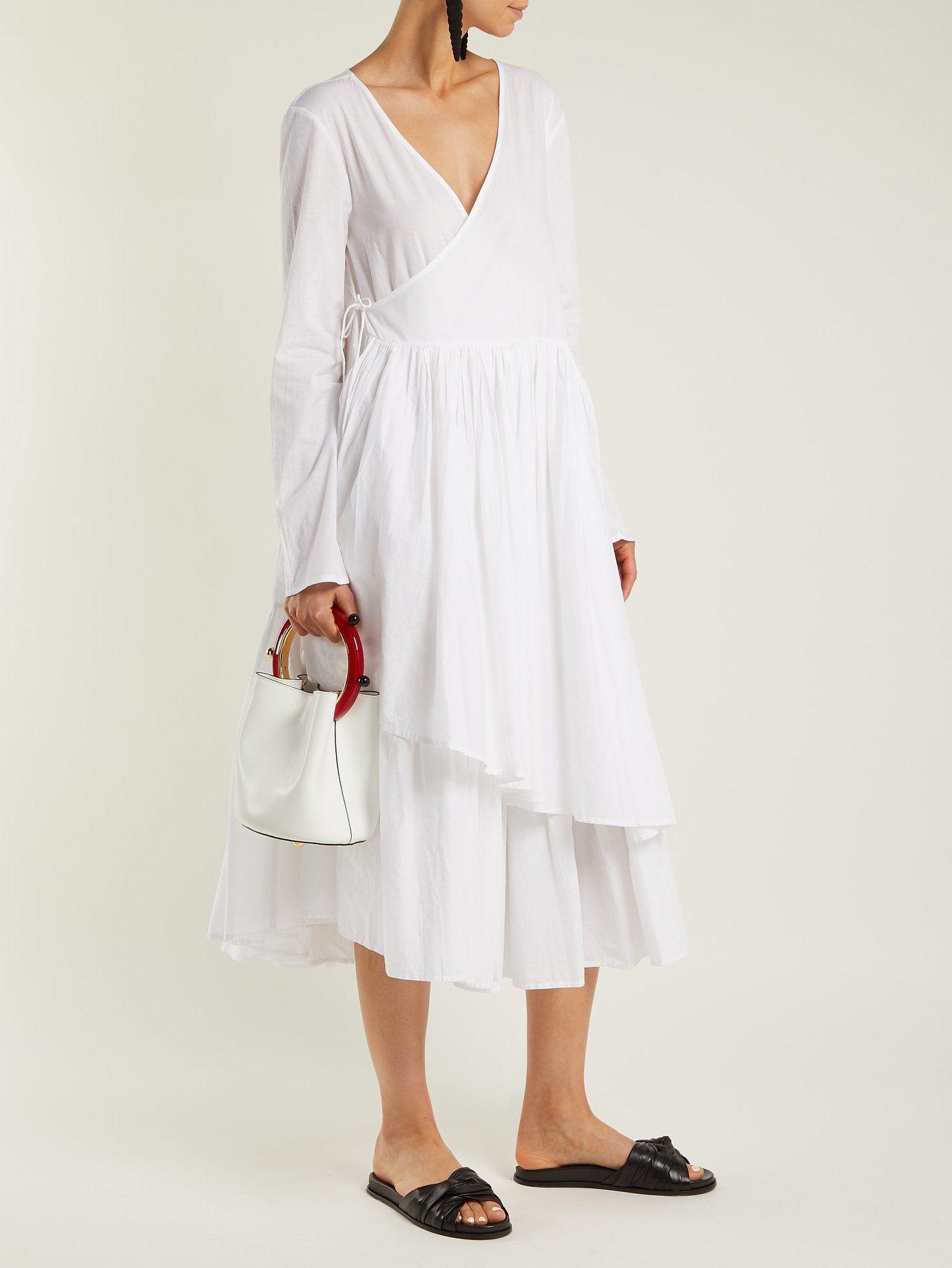 82852a4b63e02d Andaman asymmetric wrap dress   Merlette   MATCHESFASHION.COM US ...