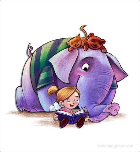 Dani Jones  Children's book illustrator,