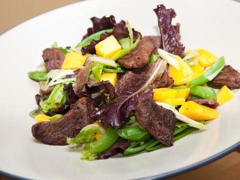 Salade met eendenborst en mango - Heerlijk!