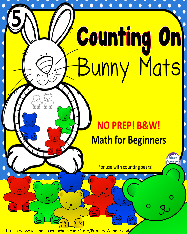 Teddy Bear Counters Activity Pre K Kindergarten