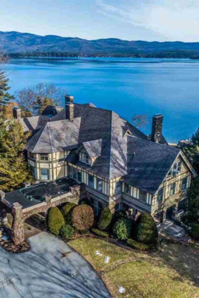 1895 Waterfront Mansion In Lake George New York Captivating Houses Mansions Mansions For Sale Beach Mansion