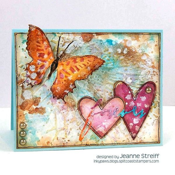 Sizzix Inspiration | Forever by Jeanne Streiff using Tim Holtz, Ranger, Sizzix and Stamper's Anonymous products; Feb 2015