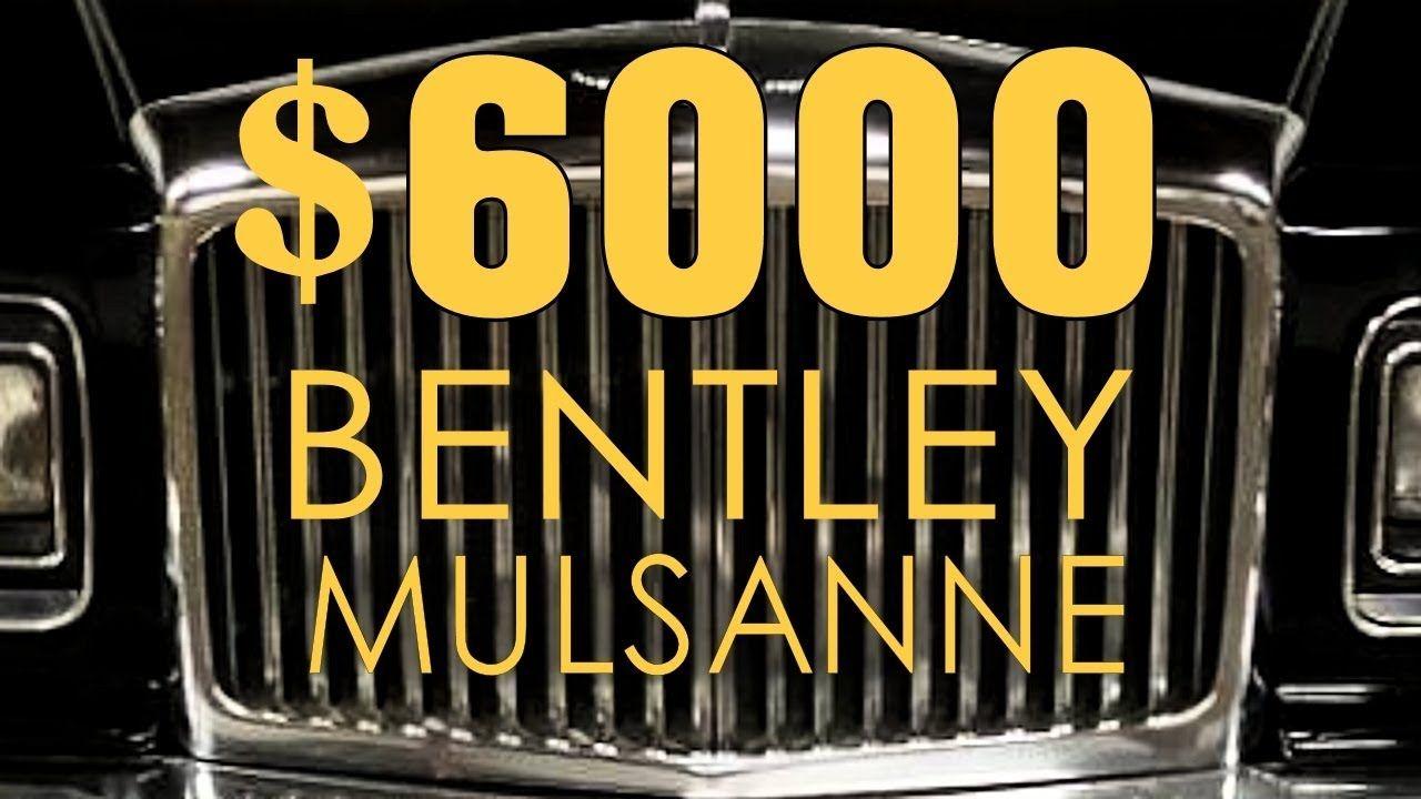 6000 bentley mulsanne part 1 craigslist