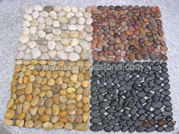 Multicolor Interlocking Stone Pebble Tile I Think This Would Be A Very Interesting Floor In