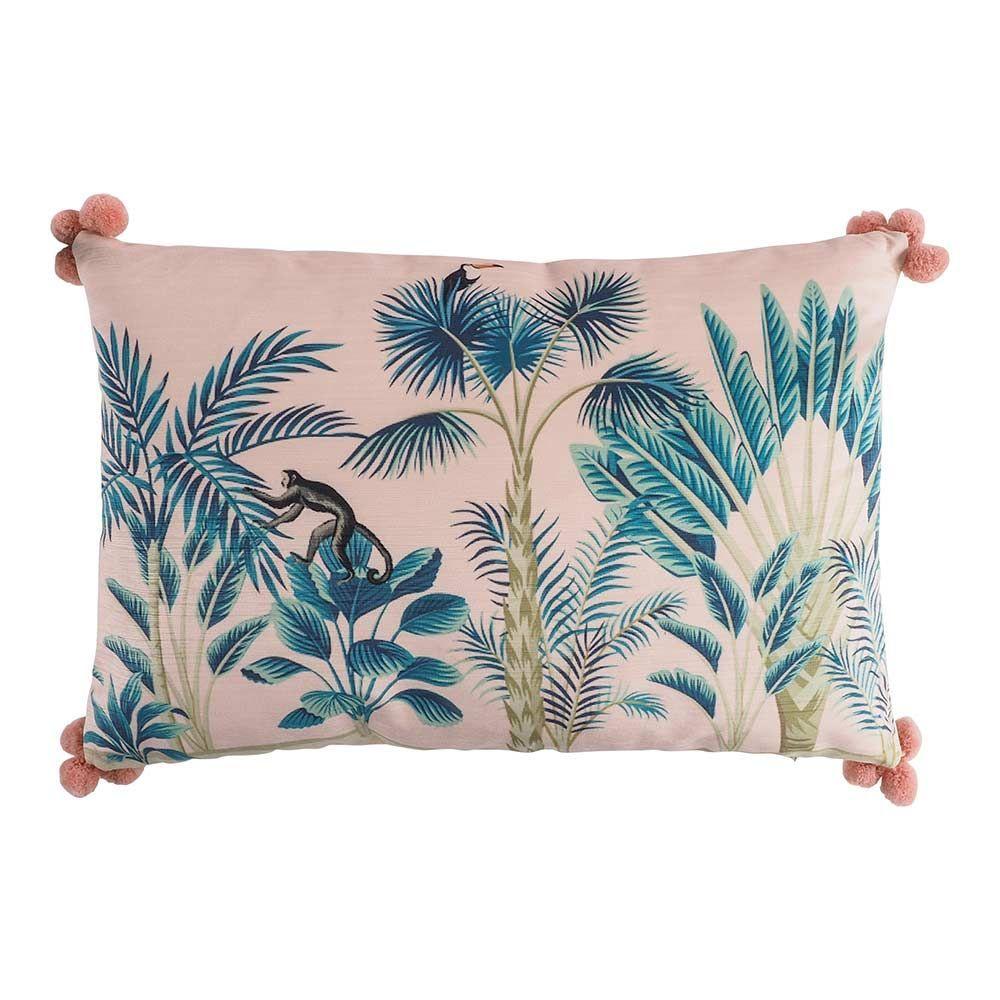 Cuscini 40 X 60.Cuscino Pink Jungle Cushion 40x60 Cm Cushions Soft Furnishings