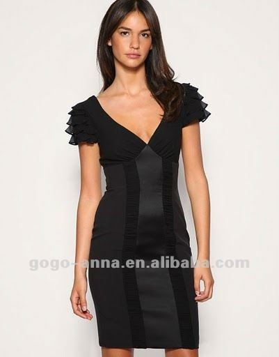 Over 50 black dresses