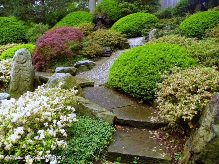 41 Wonderful Backyard Landscaping Design Ideas Hillside Landscaping Landscape Design Japanese Garden Landscape