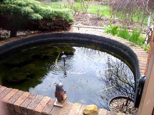 Concrete Pond Waterproofing