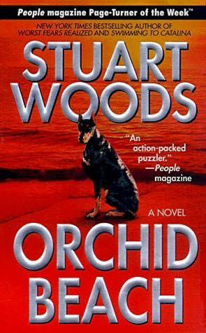 book cover of     Orchid Beach      (Holly Barker, book 1)    by    Stuart Woods