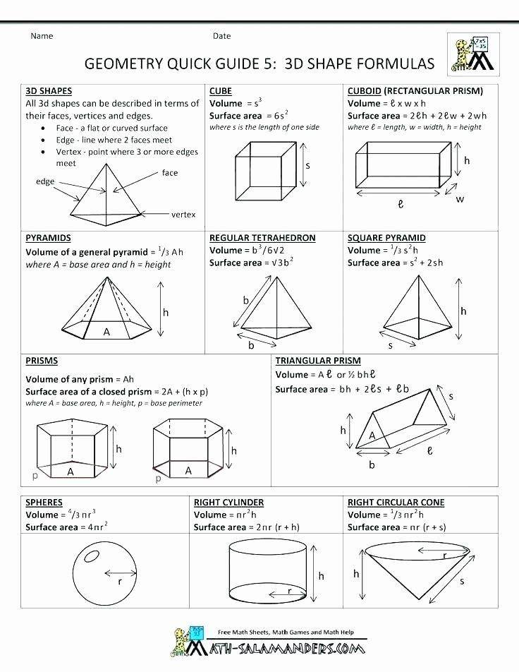 Triangle Worksheet for Kindergarten Kindergarten Geometry