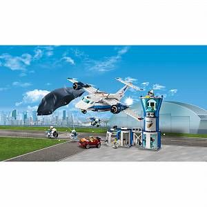 Lego City Police Sky Police Air Base 60210 In 2020 Lego City Lego City Police City