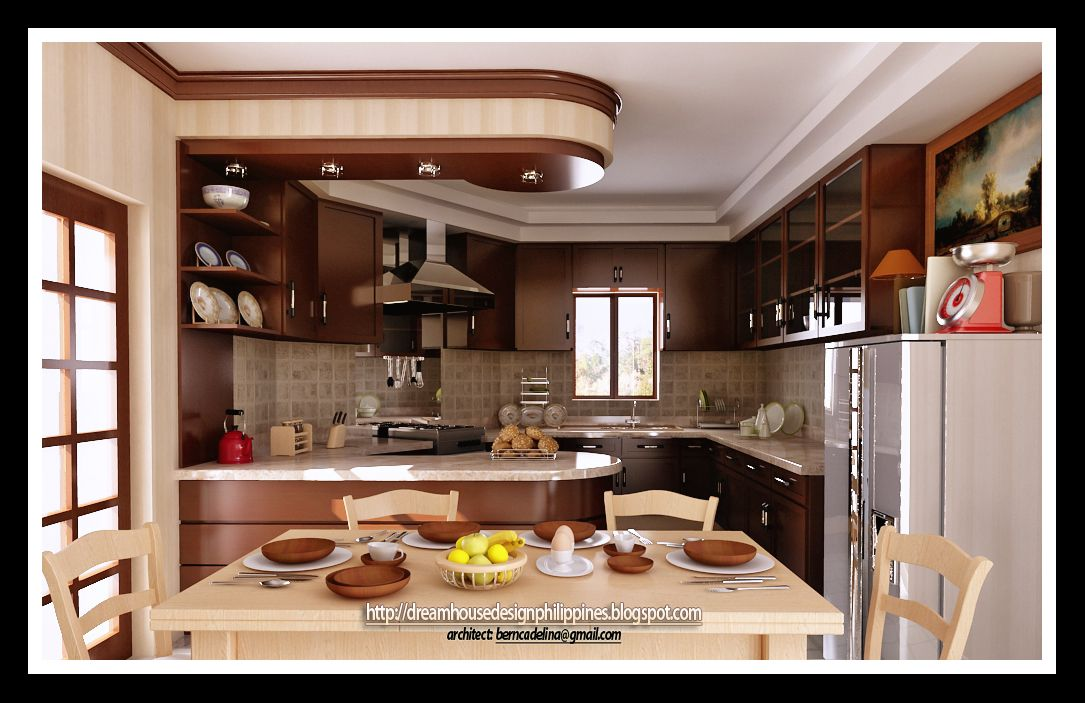 Latest Simple Kitchen Design For Small House In The Philippines Sarkemnet With Interior