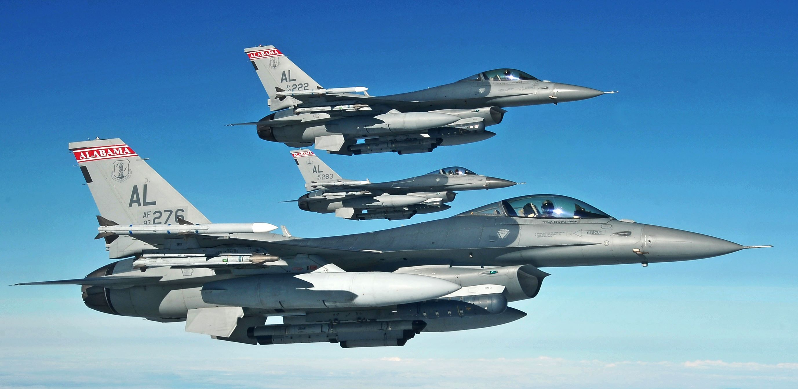 187th Fighter Wing - Alabama Air National Guard | Warbirds