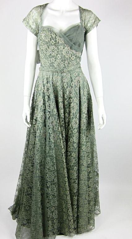 1930s Lace Gown | Glam Gowns, Pre-1940 | Pinterest | 1930s, Gowns ...
