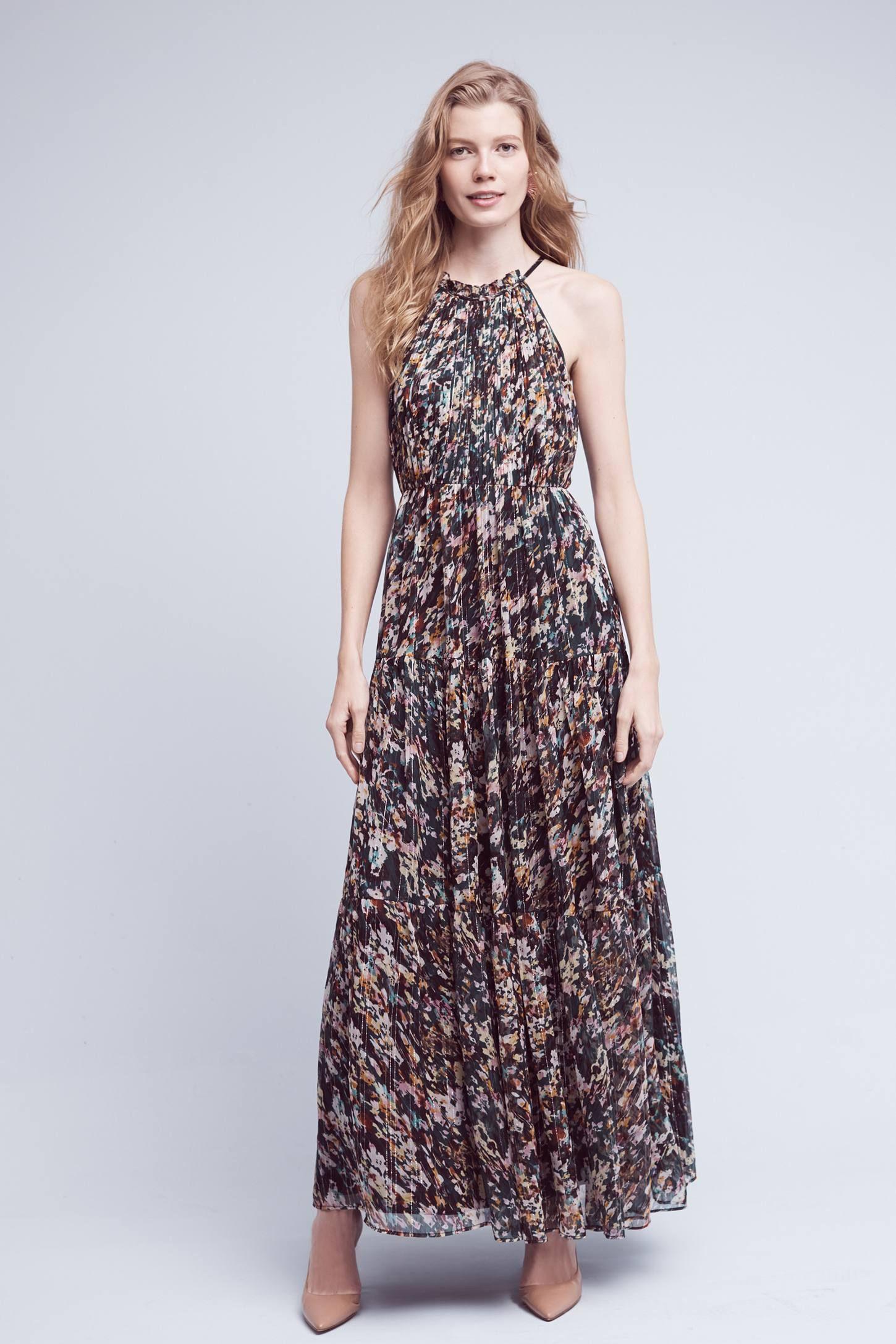 Larina Ruffled Maxi Dress Wedding Guest Pinterest Maxi dresses