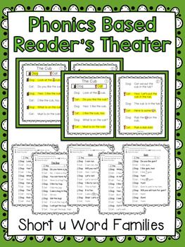 Phonics Based Reader's Theater! These two-page partner plays are ideal to use for guided reading, partner reading, fluency practice, Language Arts, centers, fast finishers, big buddies, etc. Save 20% and Buy the Bundle!