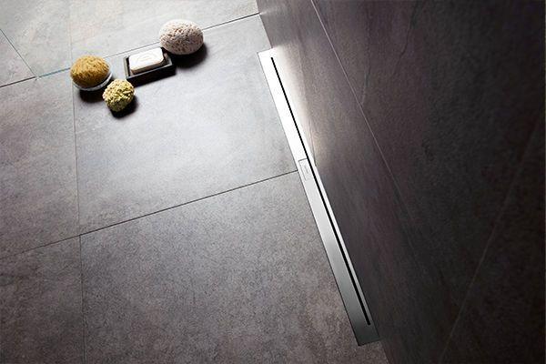Luxury Shower Drain In Basement
