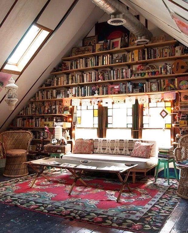 это вечнозеленый библиотека на чердаке в частном доме фото этом пойдет речь