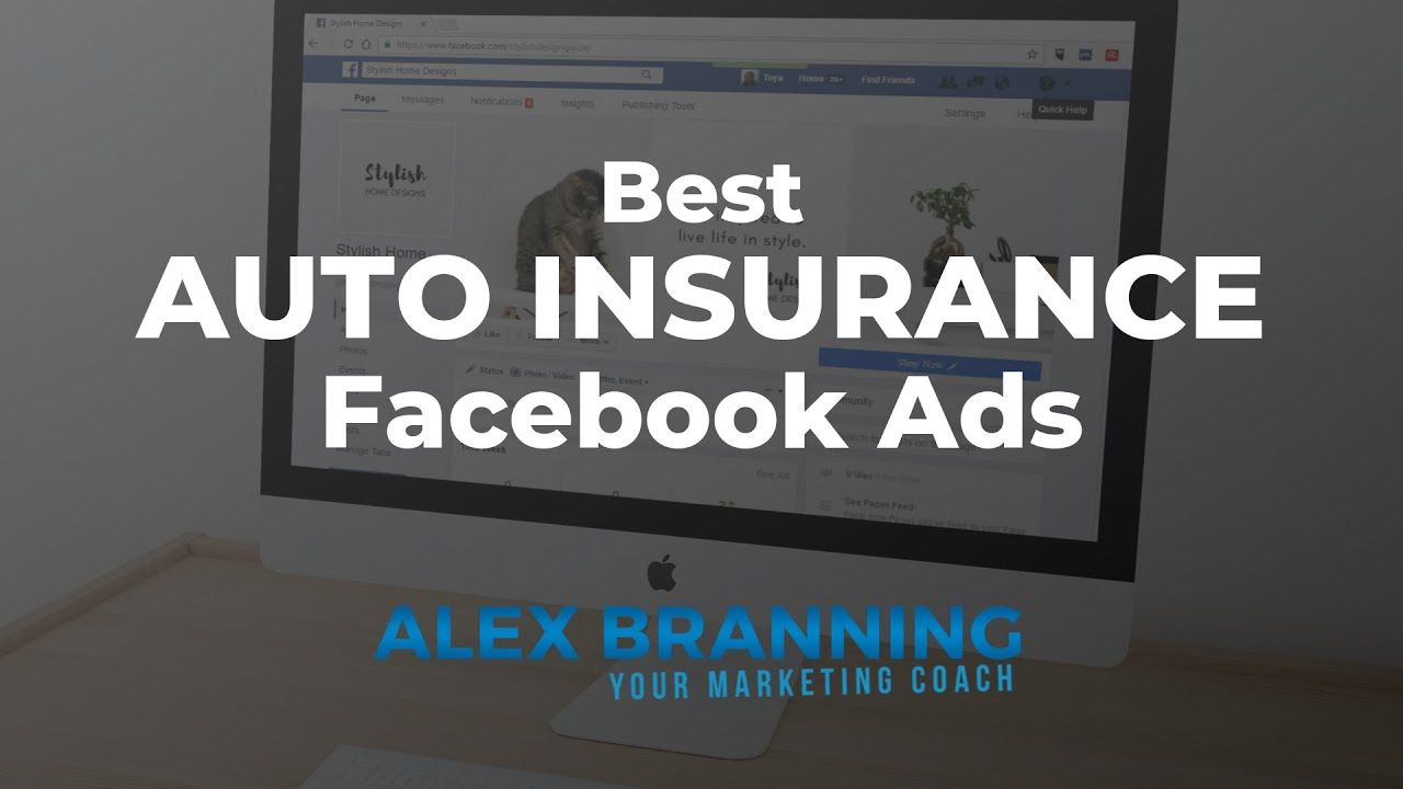 Best Auto Insurance Facebook Ad Examples Free Swipe File