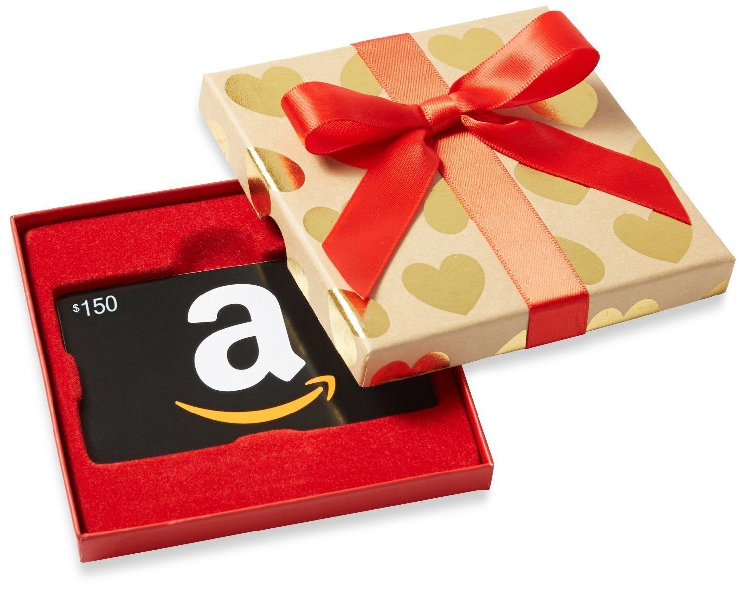 150 Amazon Gift Card Nice Gift Box Never Expires Ultra Fast 1