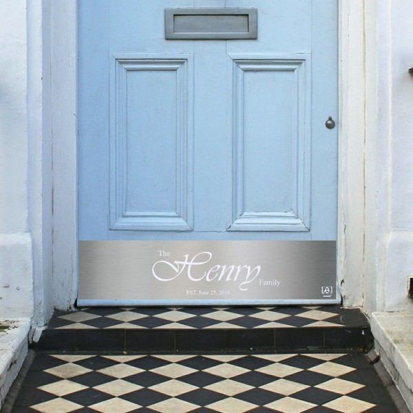 door-kick-plate-brass-wedding-gift-henry1-light- & door-kick-plate-brass-wedding-gift-henry1-light-blue-door | HOUSE ...