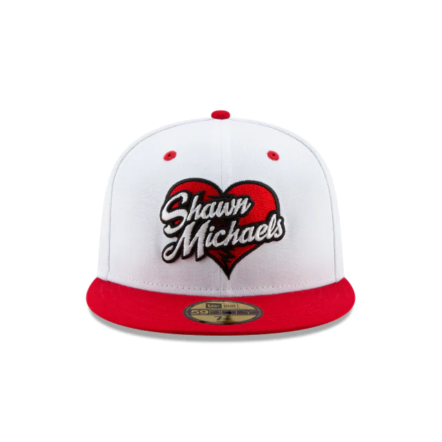 Shawn Michaels Hbk Wwe New Era 59fifty Fitted Shawn Michaels Hbk Wwe Wwe