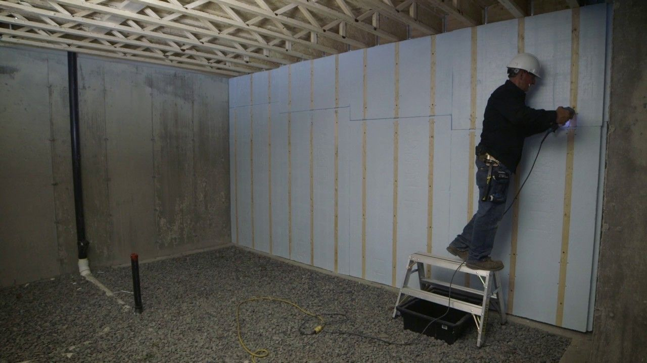 Insulating Basement Walls With Foam Board Insulating Basement Walls Foam Board Appealin Basement Wall Panels Basement Ceiling Insulation Basement Window Well