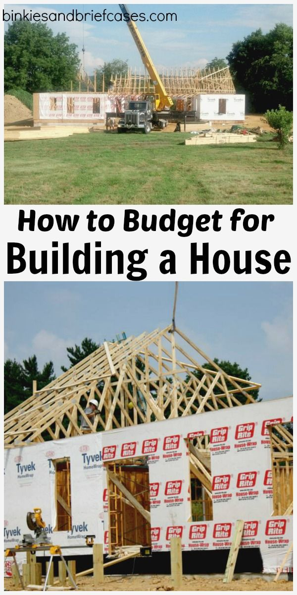 How to Budget for Building Your Own Home #buildingahouse