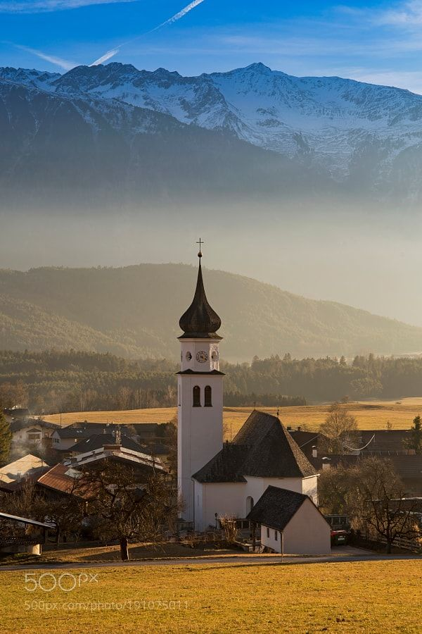 Tyrolean village by Photox0906 via http://ift.tt/2iJptMD