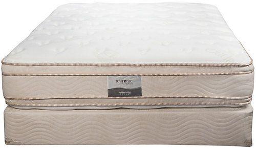 Full Restonic Comfort Care Andover Pillow Top Double Sided Mattress Set Pillow Top Mattress Mattress Sets