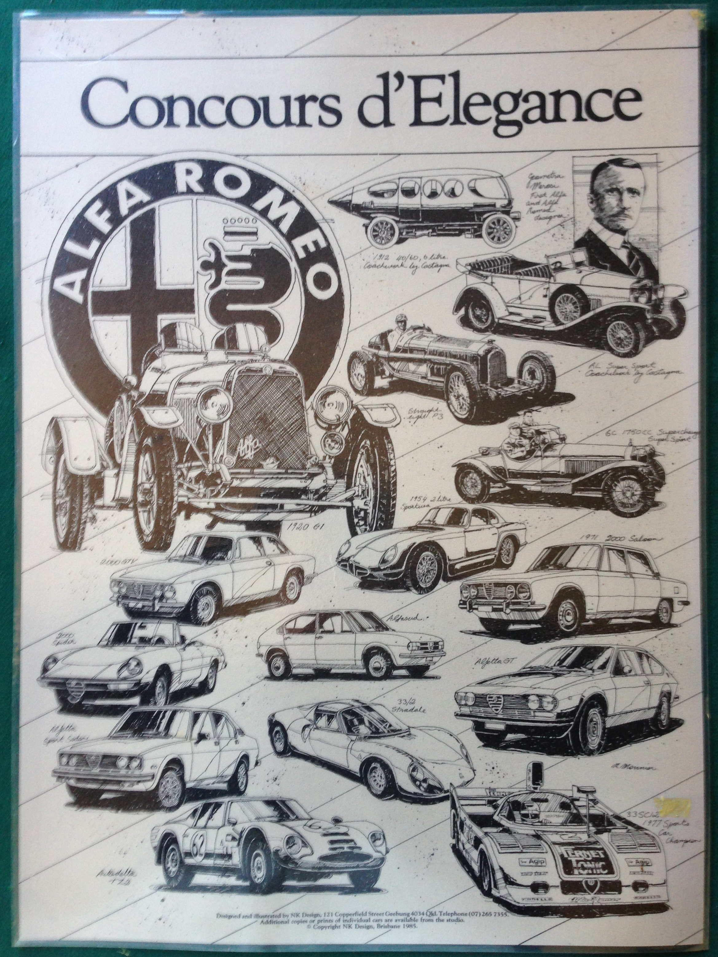 Concours Alfa Romeo classic cars Pinterest