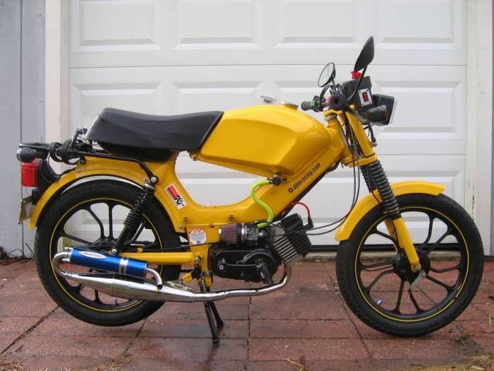 Moped Photo Gallery - 2005 Tomos Targa LX   Honda Goldwing