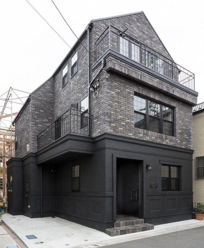 東京 ブルックリンアパートメントをイメージした2世帯輸入デザイン邸宅