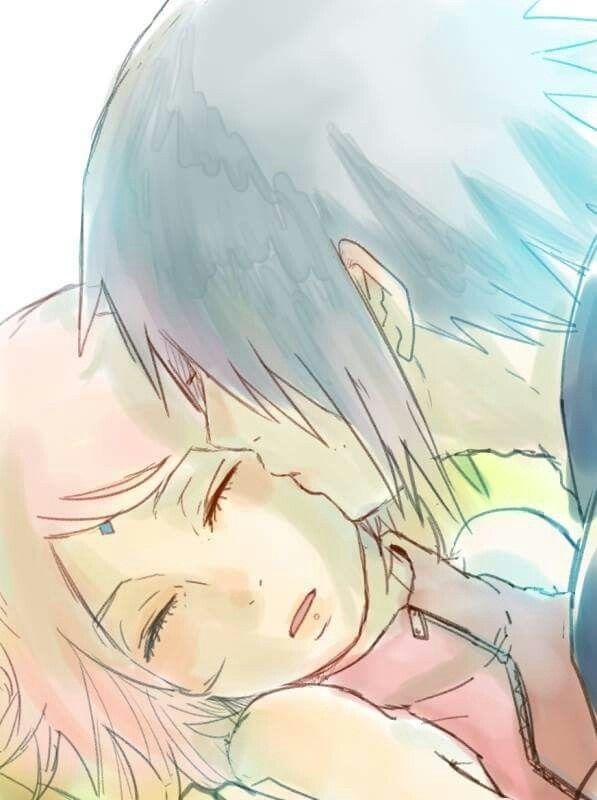 Sasuke y Sakura #sasuke  #sakuraharuno