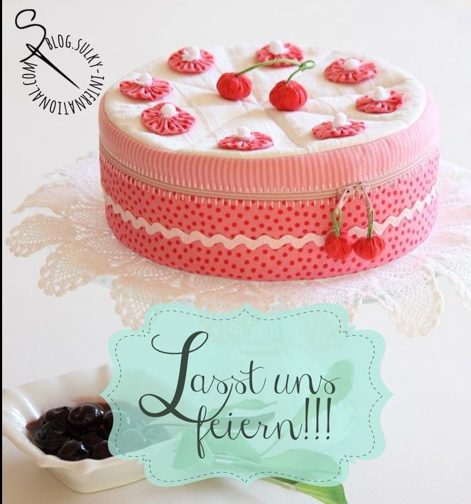 Torte Nahen Kuchen Creative Bags Accessories Sewing Needle
