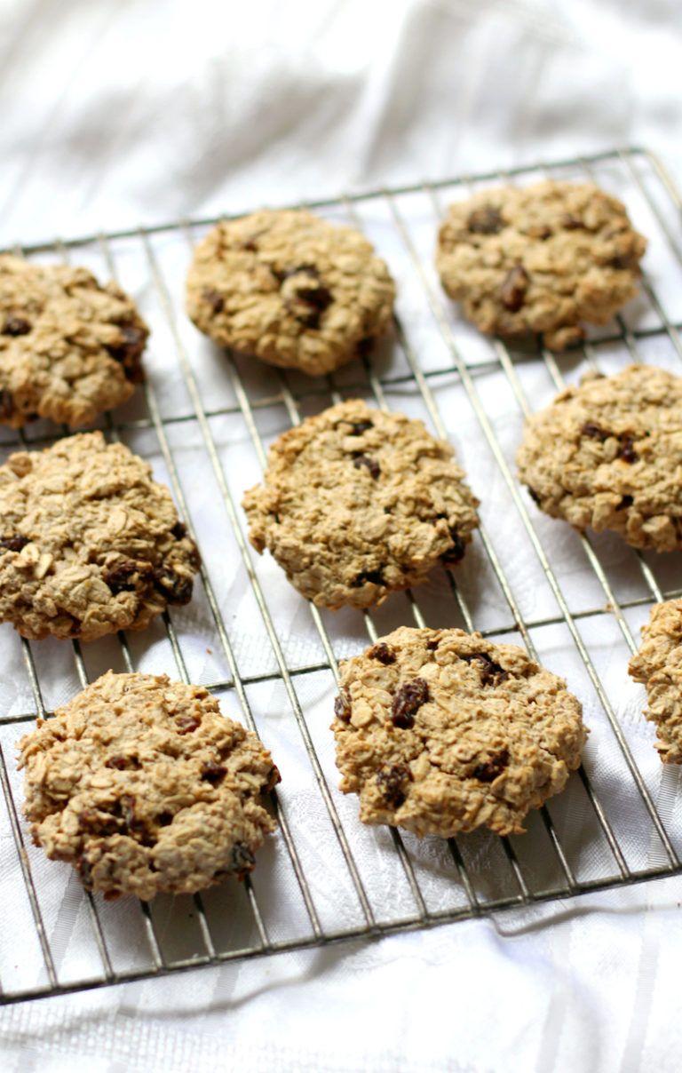 gluten free oatmeal raisin cookies healthy