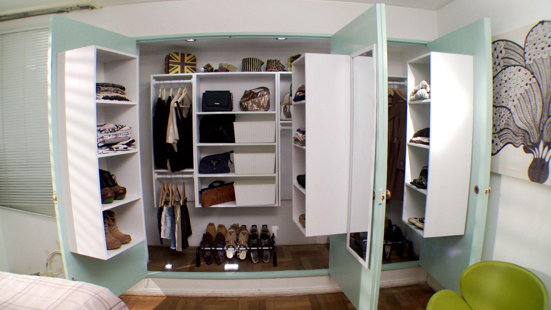 Hágalo Usted Mismo ¿C³mo hacer un walk in closet de tabique
