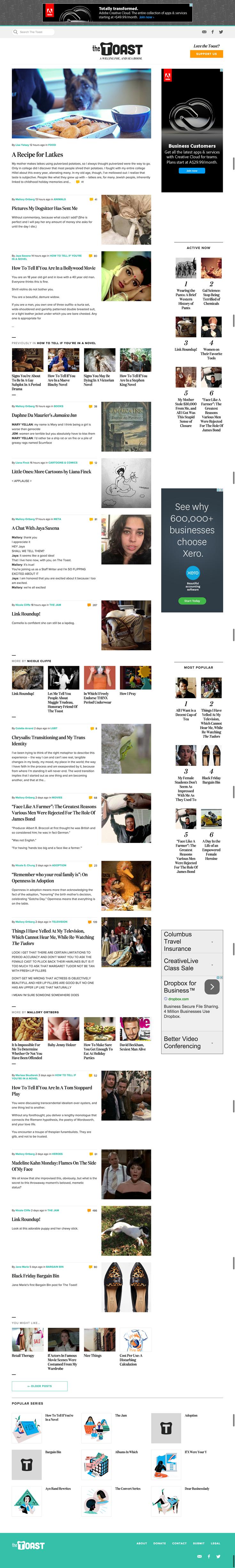 Beautiful blog design theme for WordPress Elegant typography Two
