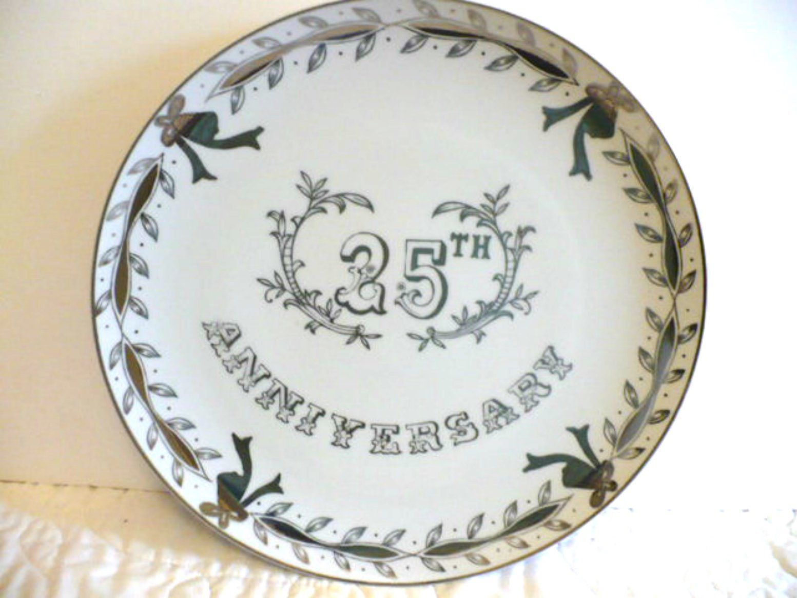 25th silver anniversary gift for parents silver serving