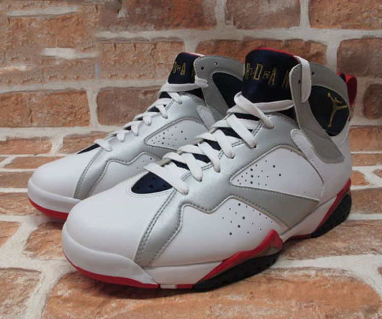 finest selection 3004c f62f4 ... clearance nike air jordan 7 retro gs white metallic gold turf red  304774 135 96e15 62d35