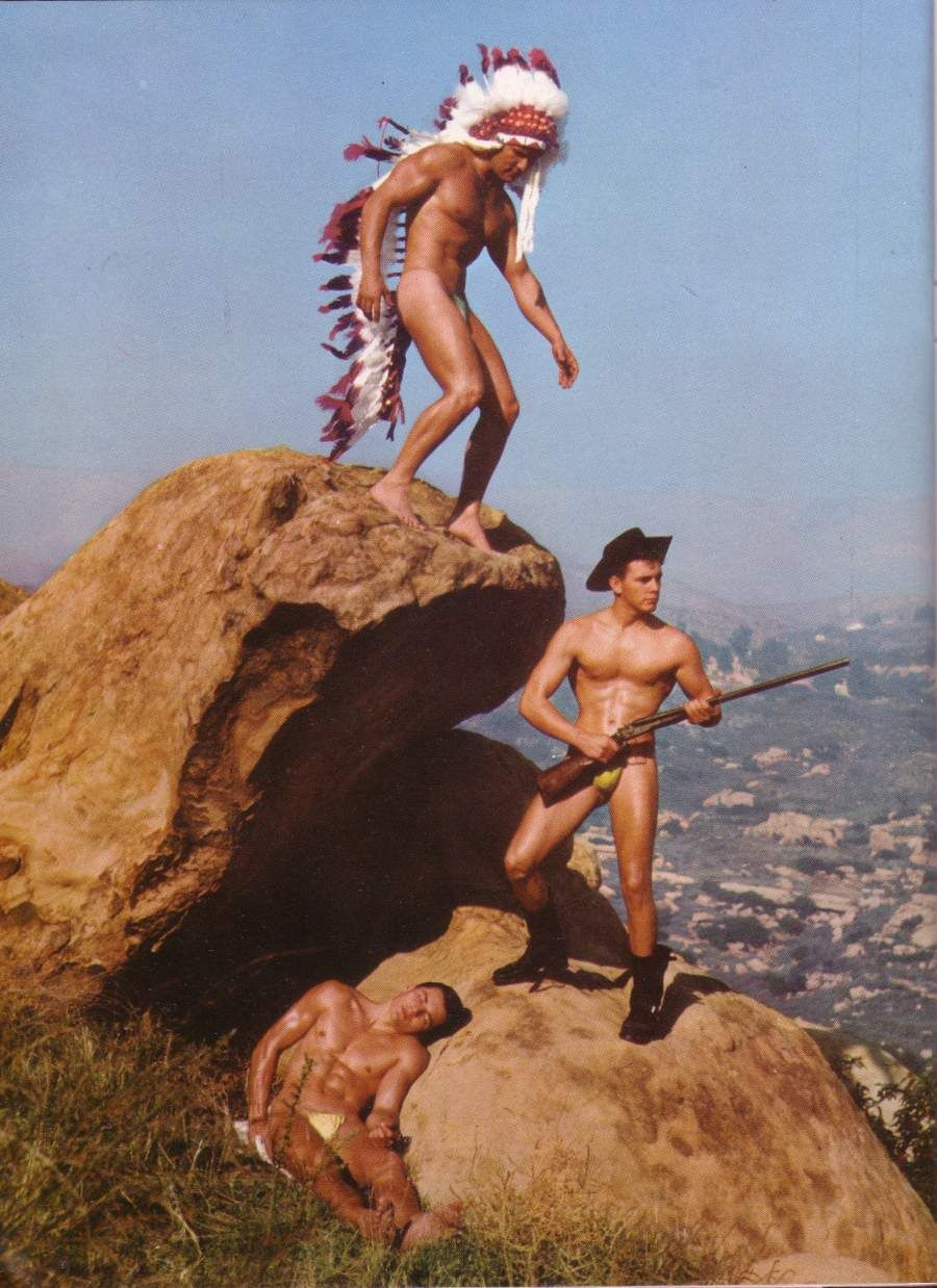 Nude native american indian boys